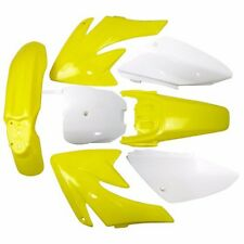 Fairing Plastic Body Kit Fenders For 70cc Honda CRF70 Dirt Pit Bike Yellow White