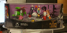 Disney Store Nightmare Before Christmas 7-Piece Figurine Set - Sealed