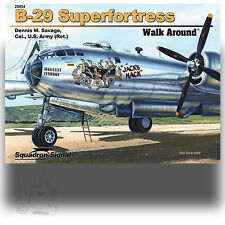 SQUADRON SIGNAL 25054 B-29 SUPERFORTRESS WALK AROUND *SC REFERENCE BOOK
