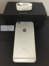 Apple iPhone 6 - 128GB - argent- Déverrouillé-bon Condition