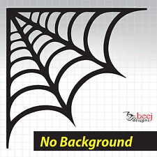 Spider web decal A 150x150 - Spiderweb sticker redback black widow bike tank