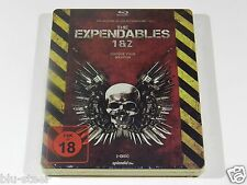 The Expendables 1 & 2 Blu-ray Steelbook [Germany] OOP!!! RARE!!