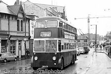 Cardiff Corporation 218 DBO478 BUT 9641T 6x4 TROLLEY Bus Photo Ref P055
