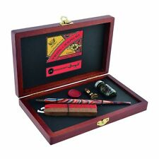 Manuscript Victoriana Writing & Sealing Gift Set - Calligraphy Dip Pen - N4604