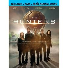 The Hunters Blu-Ray DVD Combo 2014 Victor Garber, Robbie Amell, Alexa Vega NEW