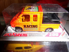 MAJORETTE MADE IN FRANCE SERIE 200 FORD TRANSIT RACING SERVICE NEUF SS BLISTER