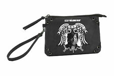 Rock Rebel The Walking Dead In Daryl We Trust Walker Mini Clutch Purse Handbag