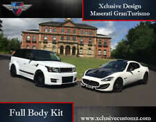 MASERATI GRANTURISMO Xclusive customz KIT CORPO