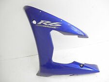 Yamaha R6 YZF-R6 '03-'05 Panel 1 Left Side Cowl Cowling Fairing