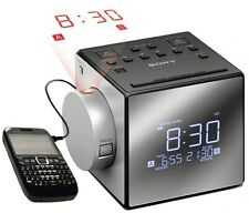 "NEW SONY ICF-C1PJ  DIGITAL ""PROJECTOR"" AM-FM CLOCK-RADIO w/ NATURE SOUNDS"