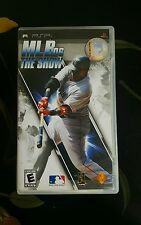 PSP Hand Held Video Game MLB06 The Show Sony Pre-Owned