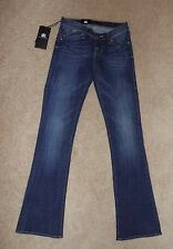 New Womens Rock & Republic Sz 0 M Kasandra Boot Cut Jeans Huntressed Stretch $88