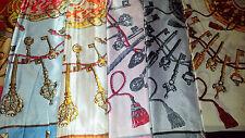 Joblot 28 pcs Faux silk scarf/scarves NEW wholesale 90x90 cm Lot I