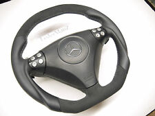 Mercedes Benz SLK R171 W203 AMG paddle LATE FACELIFT steering wheel flat bottom