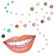 10-pc Joyería dental Piedras herg con Swarovski Elementos,Anja Cuba de tintura