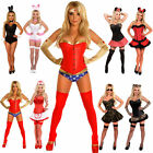 Adult Ladies Halloween Costume Wonder Woman Bunny Minnie Army Cat Fancy Dress