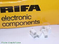 10pcs RIFA PFE225 215pF 200V 2% Polystyrene / Styroflex Film Capacitors 220pF