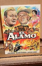 "John Wayne's ""The Alamo"" Color Movie Poster Tabletop Display Standee 10"" Tall"