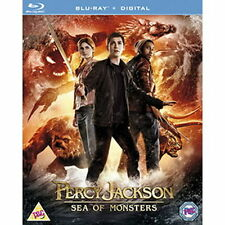 PERCY JACKSON 2 - SEA OF MONSTERS - BLU RAY - NEW / SEALED - UK STOCK