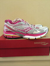 * Womens 7 Saucony 10178-1 Powergrid Hurricane 15 Pink Running Athletic Shoes