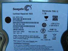 1 TB Seagate ST31000528AS / 9SL154-568 / CC46 / SU / 100536501 REV C  disco duro