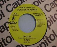 Larry Norman - The Flies 45 (rare) Blow in My Ear... / Letter to the President