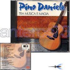 """PINO DANIELE """"TRA MUSICA E MAGIA"""" RARO CD 1991"""