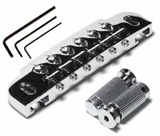 NEW Gotoh 510UB Wrap Around Bridge & Tailpiece with Stud Lock - CHROME