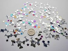 Wedding Table Scatters Foil Confetti Toasting Glasses Party Mix