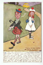 Will Ye No Come Back Again Baroness Nairne Hamish 25 Sep 1903 Tuck's 1361