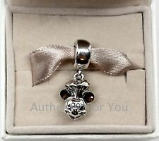 NEW 2016 Disney Pandora EPCOT Food & Wine Festival Chef Mickey Dangle Charm Bead
