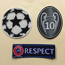 2015-16 season Real Madrid FC jersey patches- UEFA CHAMPIONS LEAGUE- Official