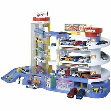 New Japan Tomica World Tomy Toys Super Auto Tomica Building Car Parking Box Set