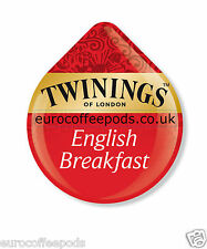 48 x Tassimo Twinings English Breakfast Tea T-Disc (VENDUTE SCIOLTE)