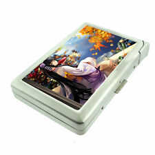 Metal Cigarette Case with Built In Lighter Anime Design-002 Sexy Japanese Manga