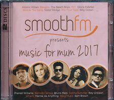 Smooth FM Presents Music For Mum 2017 2-disc CD NEW Atomic Kitten Bangles