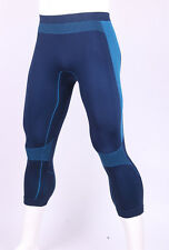 Mens Sports Exercise Compression 3/4 Pants Running Base Layers Tight L/XL 059#