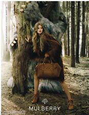 PUBLICITE ADVERTISING 105 2012  MULBERRY    collection sacs