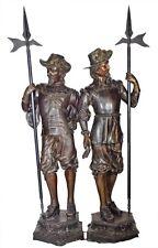 """""""Spanish Conquistador"""" Bronze Life Size Statue By E. Picault"""