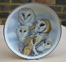 CHINA CLASSICS Barn Owl Collector Plate