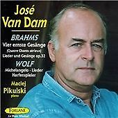 """Van Dam, Jose""-Sings Brahms & Wolf  CD NEW"