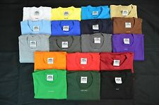 6 NEW PRO5 SUPER HEAVY WEIGHT T-SHIRT TEE PLAIN BLANK COLOR COTTON XL 6PC