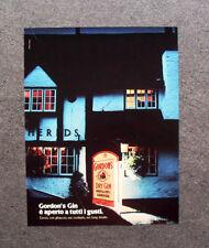 [GCG] M976 - Advertising Pubblicità - 1979 - GORDON'S  DISTILLERY DRY GIN