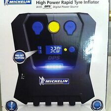 Michelin High Power Programmable Rapid Tyre Inflator Car Van Bike 12266