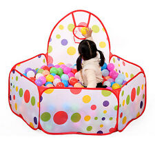 Kids Ball Pit Indoor Outdoor Baby Play Tent Children Toy Ocean Balls Pool