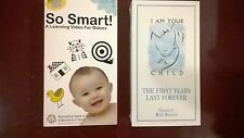So Smart! VHS,Volume 1, Learning Video For Babies, + I Am Your Child. Sealed !