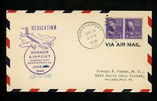 US Postal History Airmail Airport Dedication AAMC #M83a Shreveport LA 6/30/1940