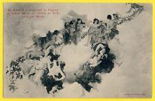 cpa Peinture d'Aimé MOROT Art Nouveau NANCY SALON de l'HOTEL de VILLE Muses Nues