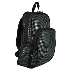 Eastsport Mesh Backpack 12 x 5 1/2 x 17 1/2 Black 113960BJBLK