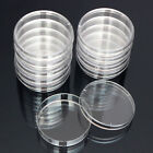 1 Pack Of 10PCS Transparent Sterile Petri Dishes 55 x 15 mm For Lab Plate Yeast